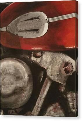 Knucklehead Canvas Print by Kat Janes
