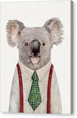 Koala Canvas Print by Animal Crew