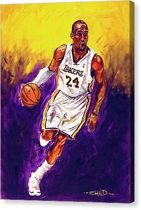 Kobe  Canvas Print by Brian Child