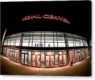 Kohl Center Curves Canvas Print by Todd Klassy