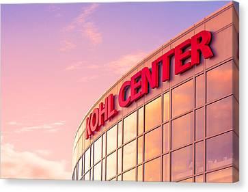 Kohl Center Illuminated Canvas Print by Todd Klassy