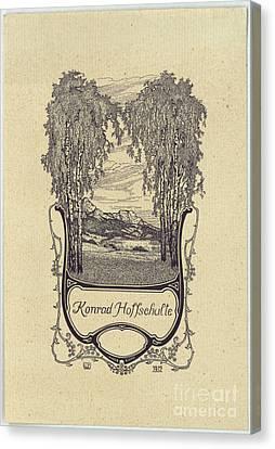 Konrad Hoffschulte Canvas Print by Willy