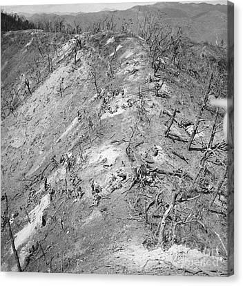 Korean War: Bloody Ridge Canvas Print by Granger