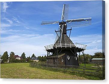Koudum Molen Canvas Print by Chad Dutson