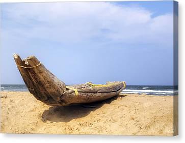 Kovalam Beach - India Canvas Print by Joana Kruse