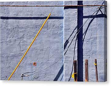 Krishna Blue Canvas Print by Skip Hunt