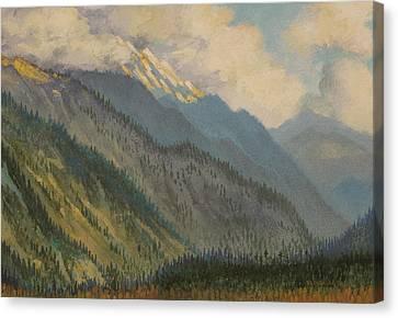 Kullu Valley. India Canvas Print by Vrindavan Das