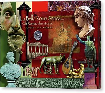 La Bella Roma Antica Canvas Print by Dean Gleisberg
