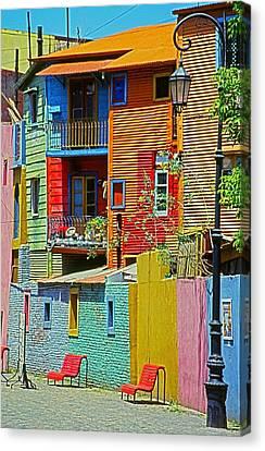 La Boca - Buenos Aires Canvas Print by Juergen Weiss