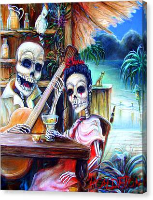 La Borracha Canvas Print by Heather Calderon