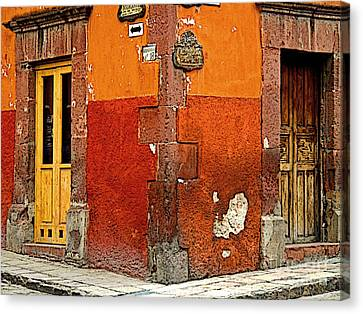 La Esquina 2 Canvas Print by Mexicolors Art Photography