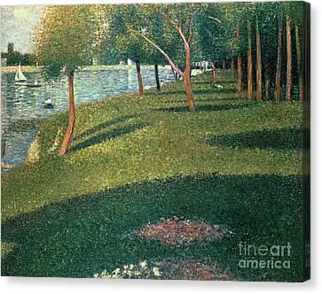 La Grande Jatte Canvas Print by Georges Pierre Seurat