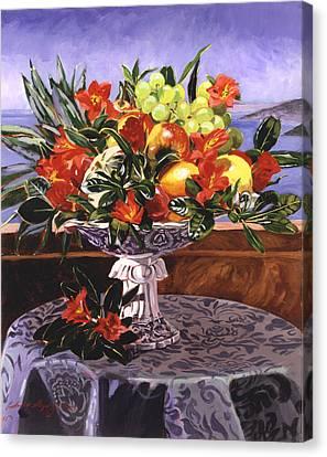 La Jolla Christmas Canvas Print by David Lloyd Glover