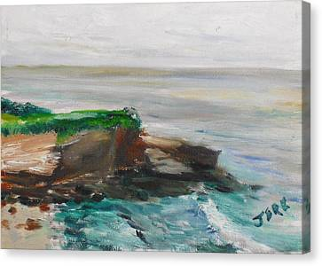 La Jolla Cove 069 Canvas Print by Jeremy McKay