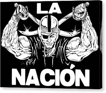 La Nacion Canvas Print by Brian Child