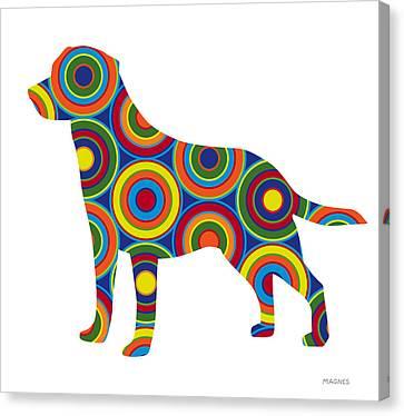 Labrador Retriever Canvas Print by Ron Magnes