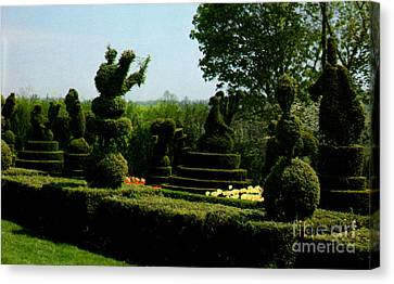 Ladew Topiary Gardens Canvas Print by Ruth  Housley