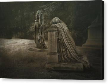 Ladies Of Eternal Sorrow Canvas Print by Tom Mc Nemar