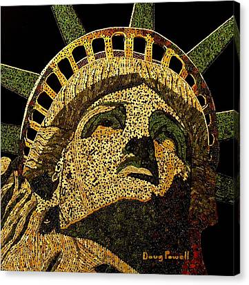 Lady Liberty Canvas Print by Doug Powell