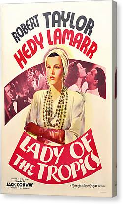 Lady Of The Tropics 1939 Canvas Print by Mountain Dreams