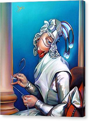 Lady Seabass Canvas Print by Patrick Anthony Pierson