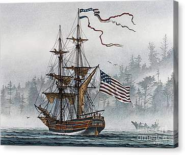 Lady Washington Canvas Print by James Williamson