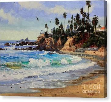 Laguna Beach  Canvas Print by Gary Kim