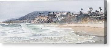 Laguna Beach Canvas Print by Tom Dorsz