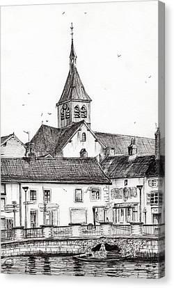 Laignes France Canvas Print by Vincent Alexander Booth