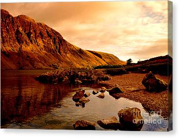 Lake District National Park Canvas Print by Steven Brennan