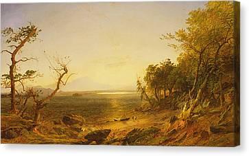 Lake George Canvas Print by Jasper Francis Cropsey