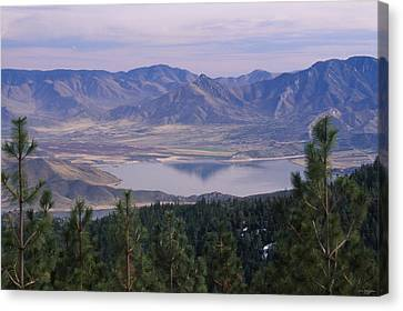 Lake Isabella Canvas Print by Soli Deo Gloria Wilderness And Wildlife Photography