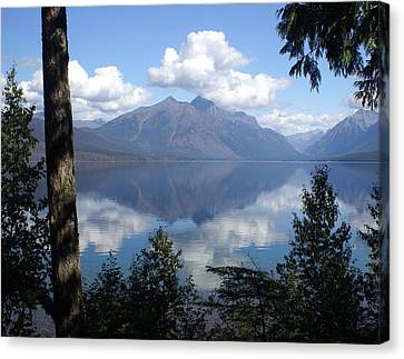 Lake Mcdonald Glacier National Park Canvas Print by Marty Koch
