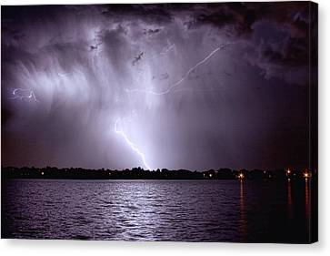 Lake Thunderstorm Canvas Print by James BO  Insogna