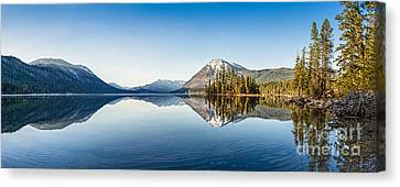 Lake Wenatchee Panorama Canvas Print by Jamie Pham