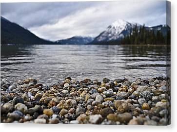 Lake Wenatchee Rocks Canvas Print by Pelo Blanco Photo