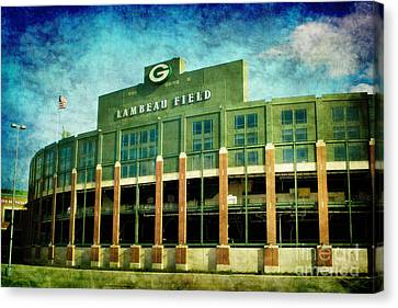 Lalalalala Lambeau Canvas Print by Joel Witmeyer