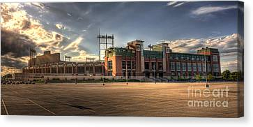 Lambeau Field Canvas Print by Joel Witmeyer