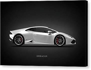 Lamborghini Huracan Canvas Print by Mark Rogan