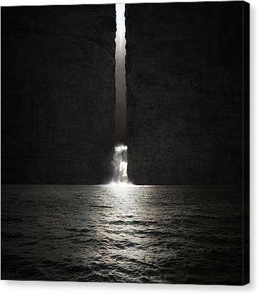Lamentation Canvas Print by Michal Karcz