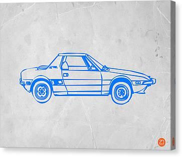 Lancia Stratos Canvas Print by Naxart Studio