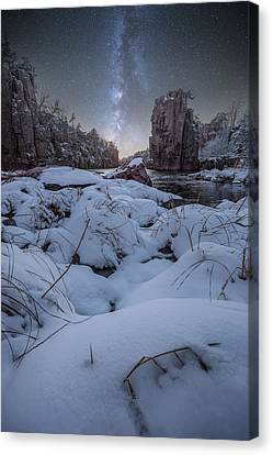 Land Of Narnia Canvas Print by Aaron J Groen