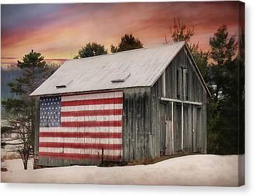Land That I Love Canvas Print by Lori Deiter