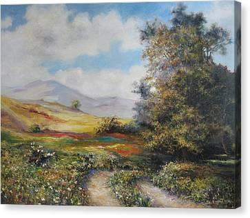 Landscape In Dilijan Canvas Print by Tigran Ghulyan