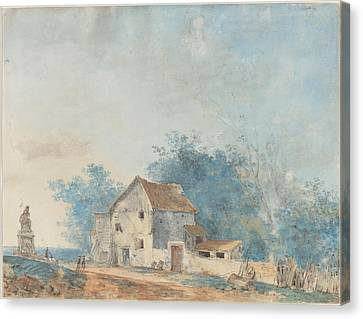 Landscape Canvas Print by Louis Gabriel Moreau