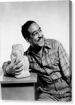 Langston Hughes (1902-1967) Canvas Print by Granger
