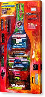 Language Of Love Canvas Print by Patti Schermerhorn