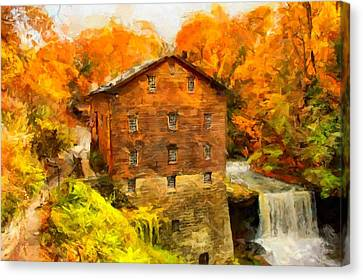 Lanterman's Mill Canvas Print by Caito Junqueira