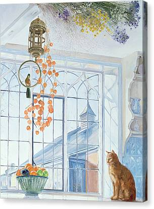 Lanterns Canvas Print by Timothy Easton