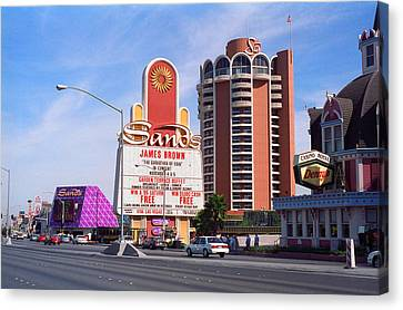 Las Vegas 1994 #1 Canvas Print by Frank Romeo